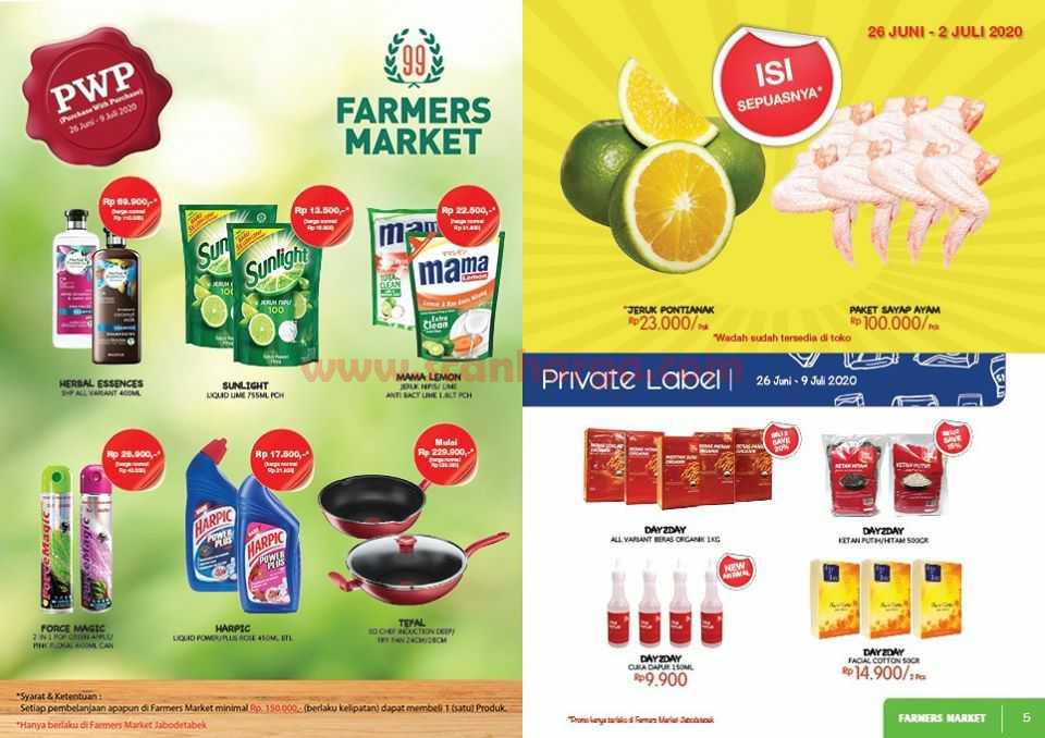 Katalog Promo Farmers Market Terbaru 26 Juni - 9 Juli 2020 3