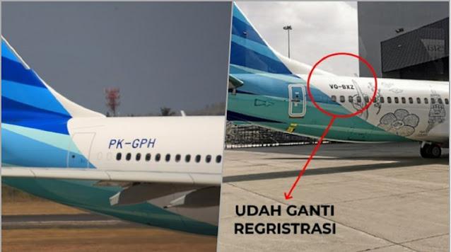Call Sign Pesawat Garuda Berubah, Pengamat: Sediih! Pesawat Nunggak Bayar, Diambil Leasing...