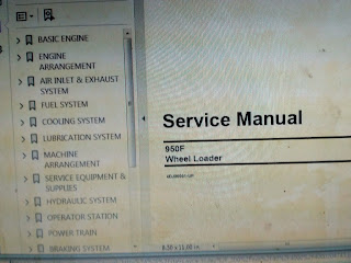 Wheel Loader service manual CAT 950F 4DJ