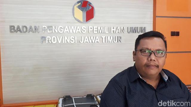 Bawaslu Temukan 300.297 DPT Ganda di Jawa Timur
