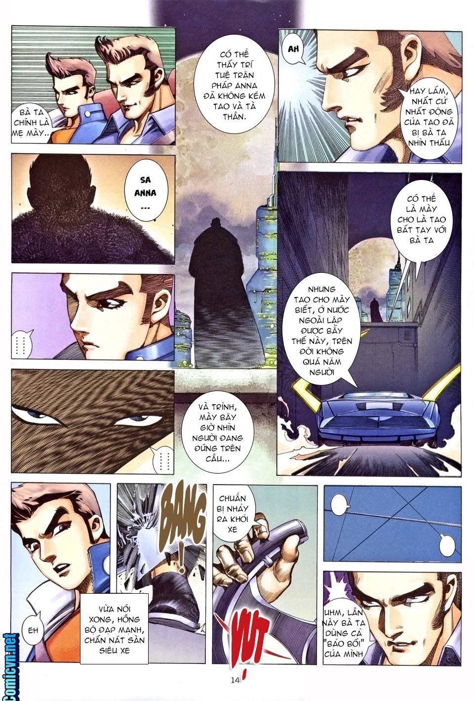 Xích Trụ Phạn Đường chap 25.2 - Trang 2