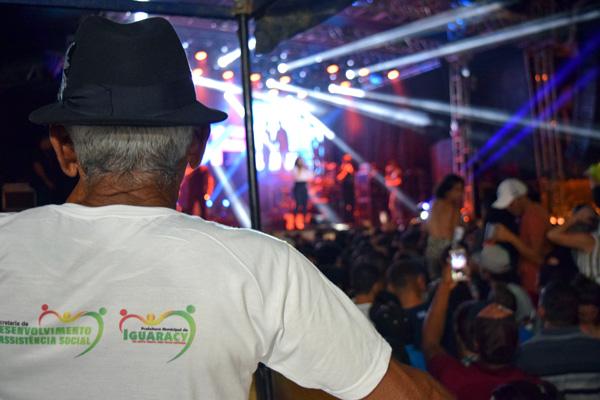 Camarote da Acessibilidade proporciona inclusão e foi uma das grandes novidades da Festa de Janeiro 2019 em Iguaracy. Governo Municipal acerta de novo!