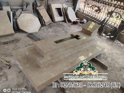 Desain Makam Batu Marmer