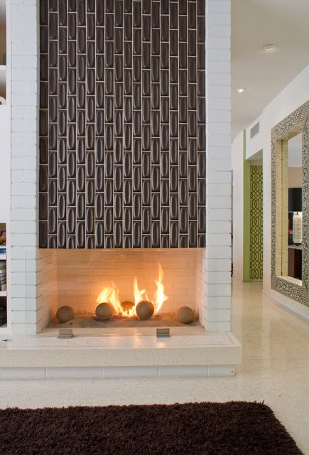Avente Tile Talk: Designing with Tile: Fireplaces & Hearths