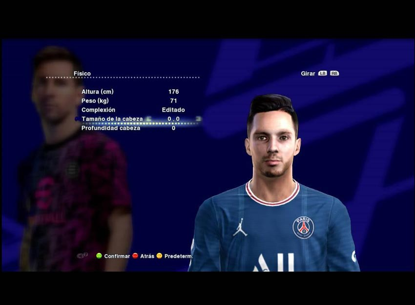 Pablo Sarabia Face For PES 2013