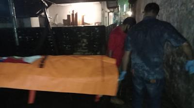 Riandi Simbolon Gantung Diri di Rumah Kosong di Jalan Toba Siantar