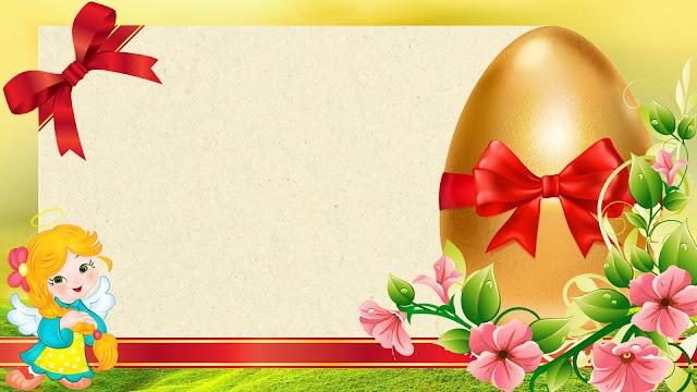 kartu ucapan telur paskah