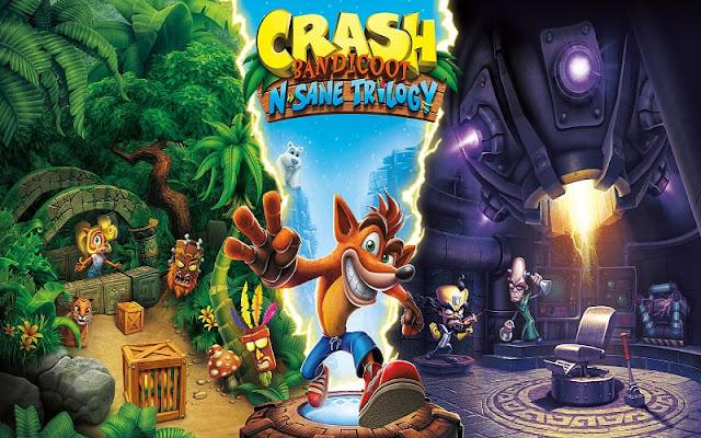 تحميل لعبة Crash Bandicoot N Sane Trilogy بحجم 4 GB مجانا للكمبيوتر