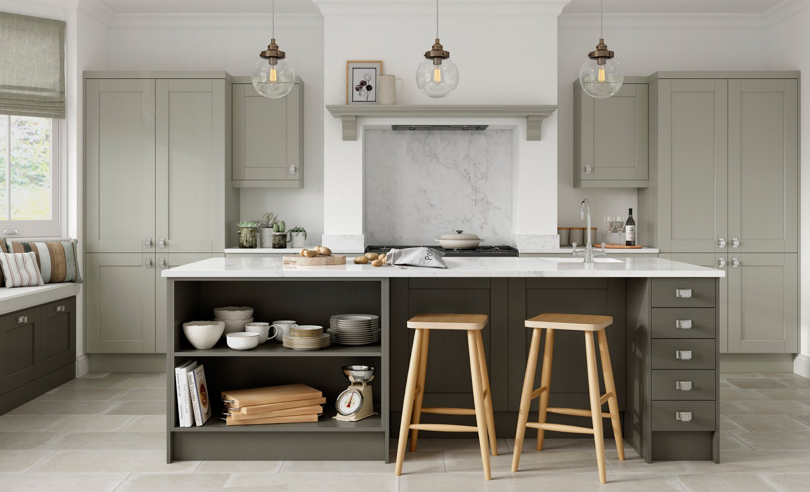 A brand new kitchen style the kensington will be available from 24th july from our uform kitchen stori range at the kitchen yard