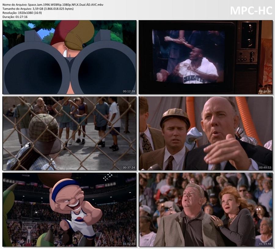 SPACE JAM – O JOGO DO SÉCULO (DUAL ÁUDIO/1080P) – 1996 1