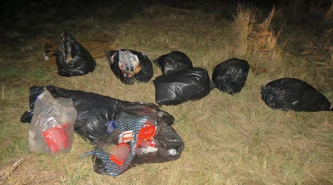 Veszélyes hulladékot égettek és dobtak ki az út mellé