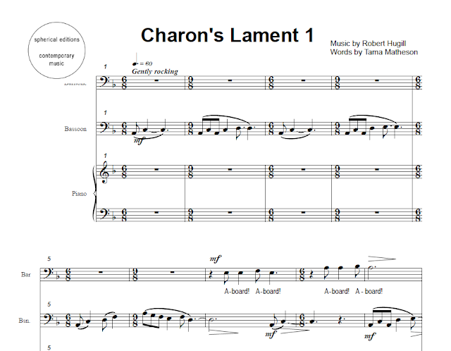 Charon's Lament by Robert Hugill & Tama Matheson