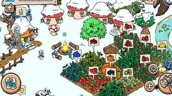 Smurfs Village Mod Apk Game Download