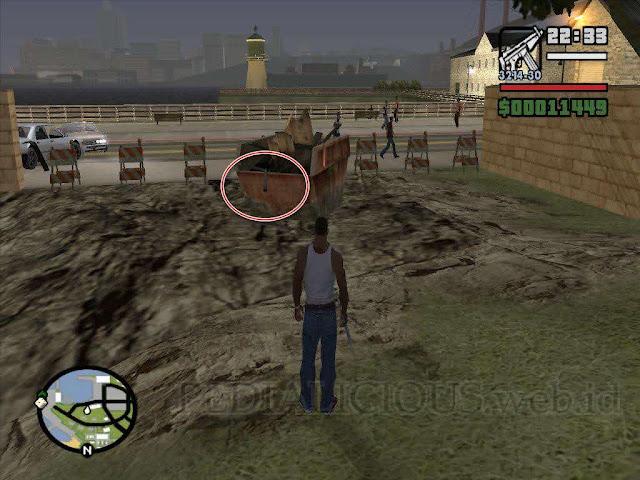 Lokasi Vibrator di GTA San Andreas