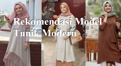 Rekomendasi Model Tunik Modern