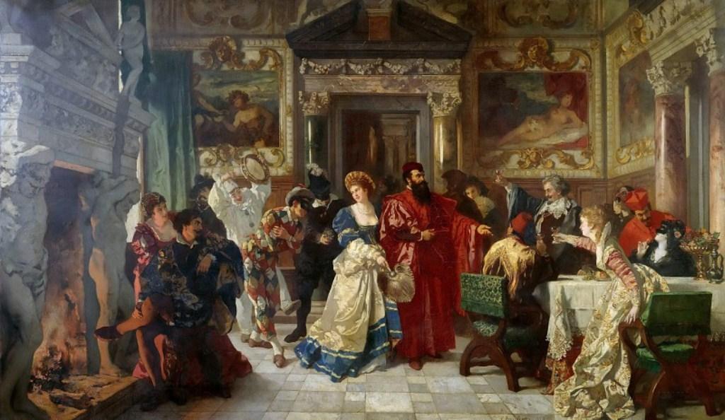 German Painter - Carl Ludwig Friedrich Becker (1820-1900)