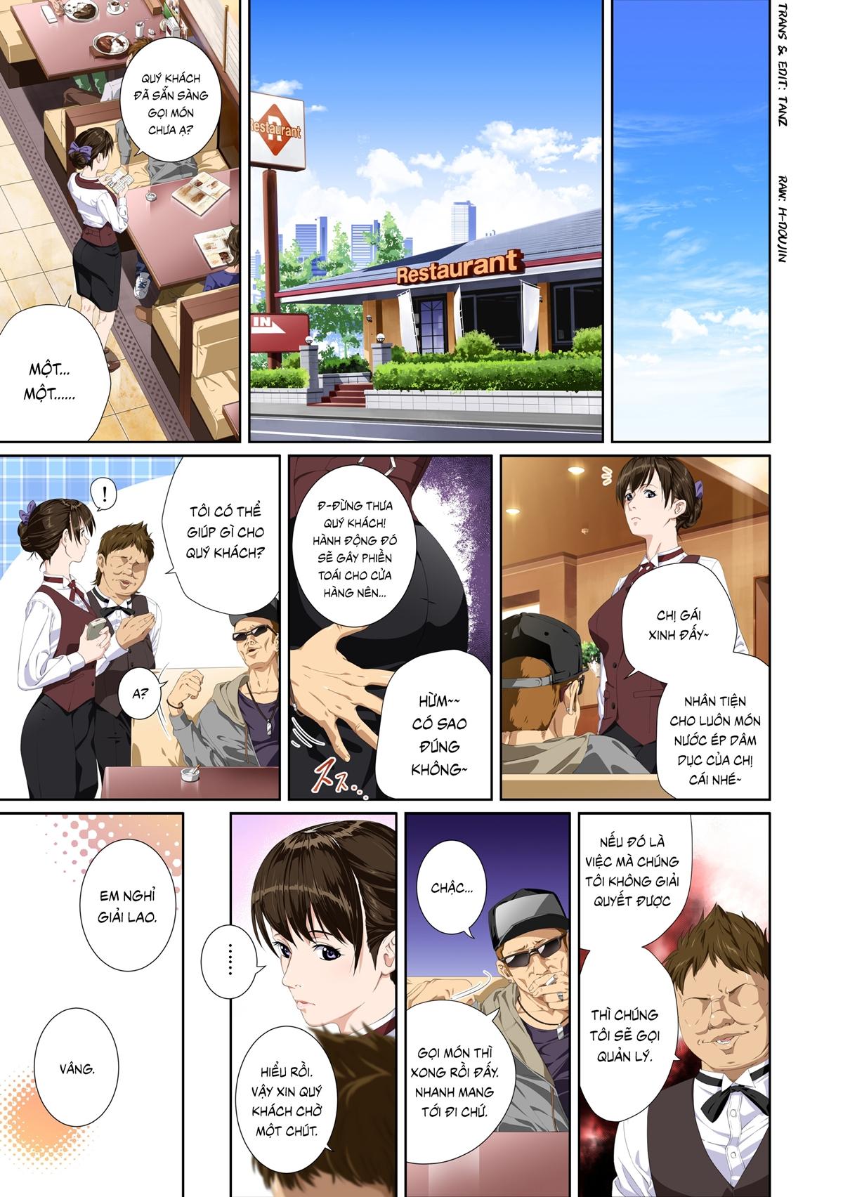 Truyện tranh sex địt em mỹ nhân trường học - Chap 1 - Truyện Hentai