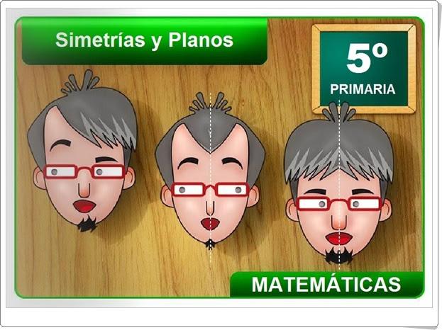 """""""Simetrías y planos"""" (Geometría de Educación Primaria)"""