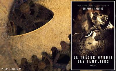 Livre Blog PurpleRain : Le trésor maudit des templiers • Sylvain Silvestro