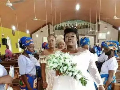 [Sad News] OMG! ! Bride Dies On Her Wedding Day, See What Actually Killed Her