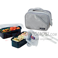 Lock & Lock Lunch Box Set 2P Dark Gray HPL762DG
