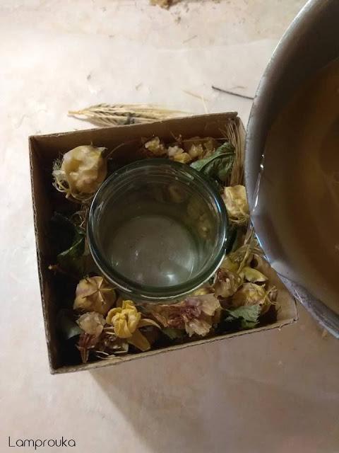 Πως να φτιάξεις κερί με βάση από τσιμέντο.