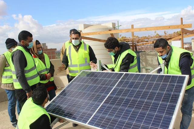 كورس تركيب ألواح الطاقة الشمسية بريمو هندسة ايكو سولار