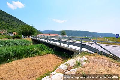 Mosta Raša Istra