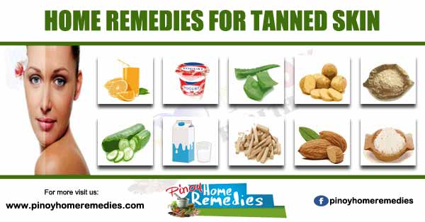Home Remedies For Tanned Skin