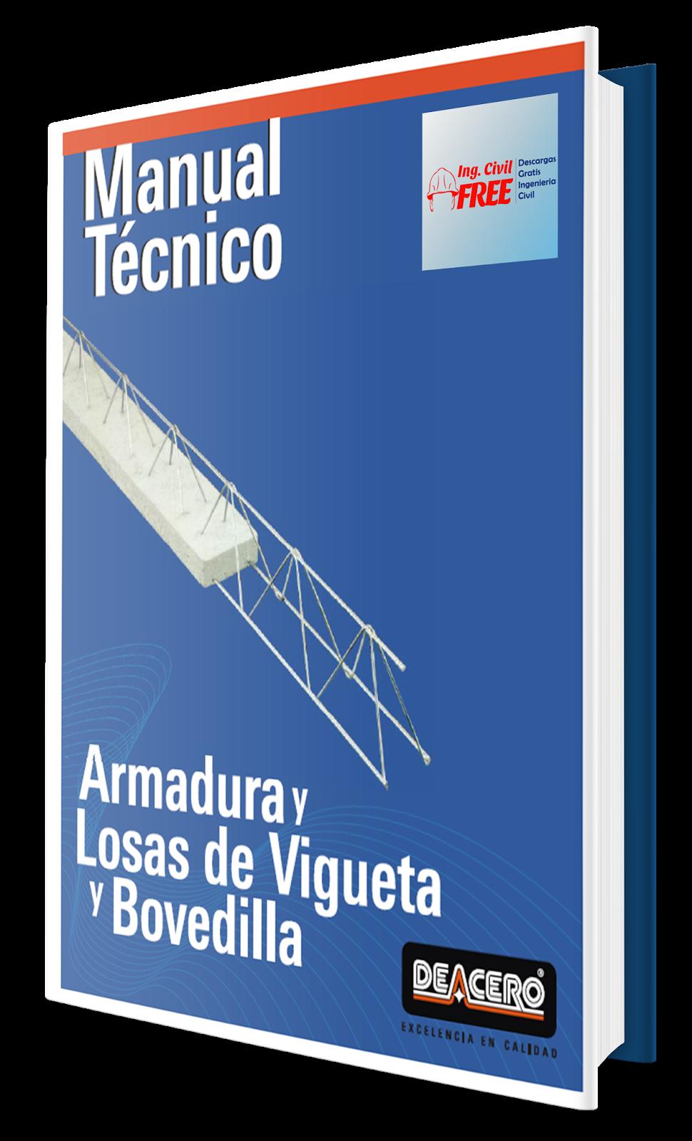 manual t cnico armaduras losas de vigueta y bovedilla