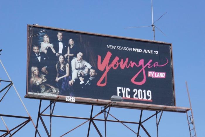 Younger season 6 Emmy 2019 FYC billboard