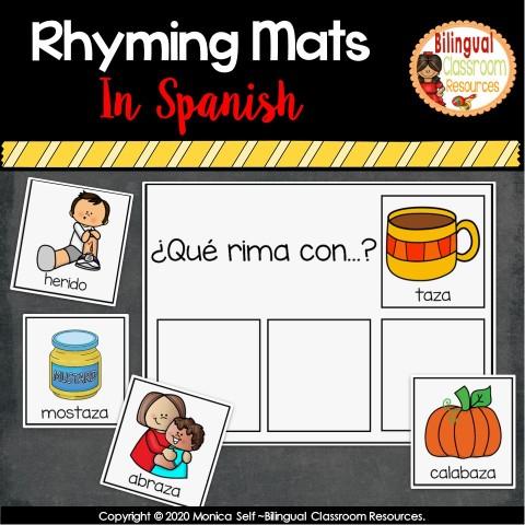Rimas/Rhyming Mats In Spanish