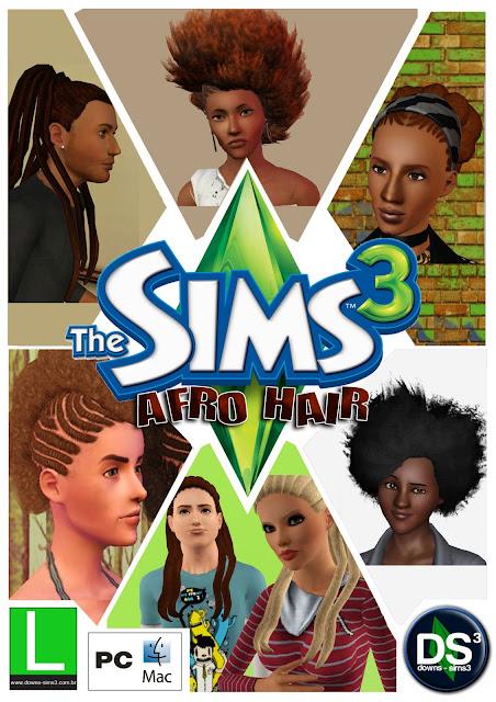 cabelos para the sims 3 sims3pack