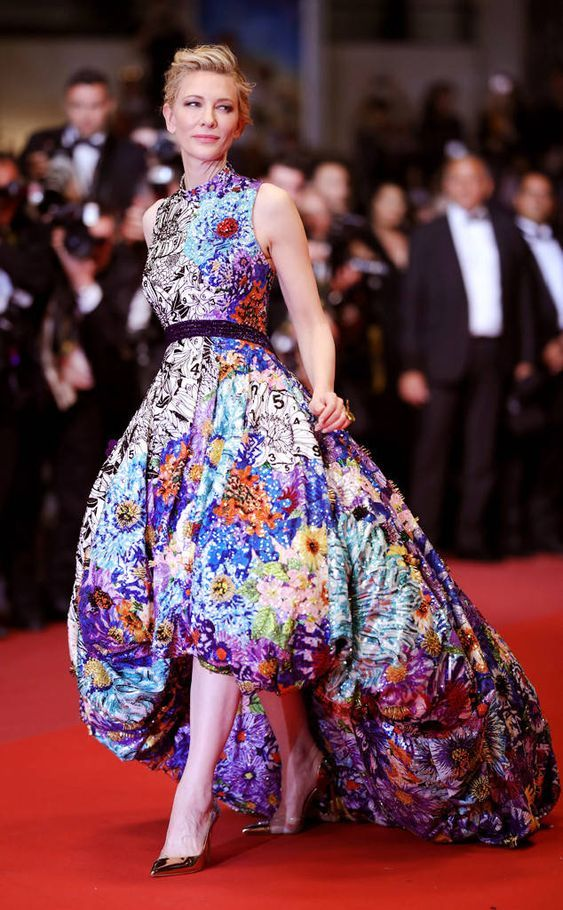 Cate Blanchett in Mary Katrantzou Dress - Image 5