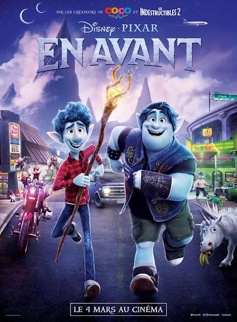 Film En Avant L'Agenda Mensuel - Mars 2020