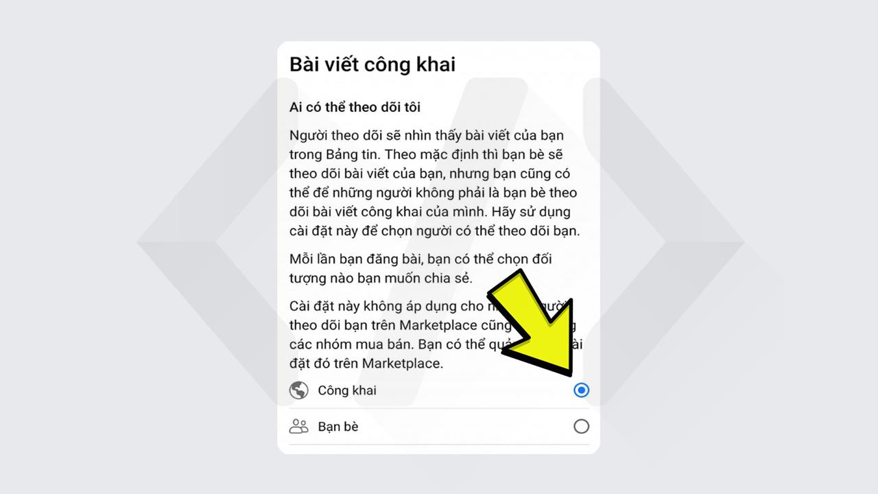 Hướng dẫn bật theo dõi Facebook trên điện thoại