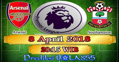 Prediksi Bola855 Arsenal vs Southampton 8 April 2018