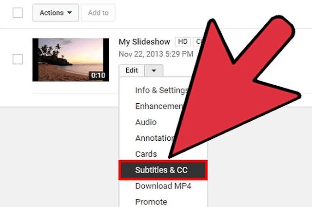 Add subtitles to videos