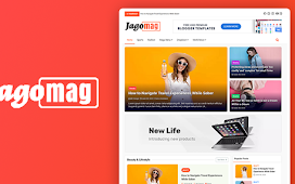 How to Download Jago Mag Magazine Blogger Template