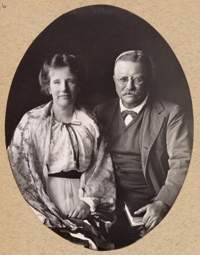 Theodore and Edith Roosevelt
