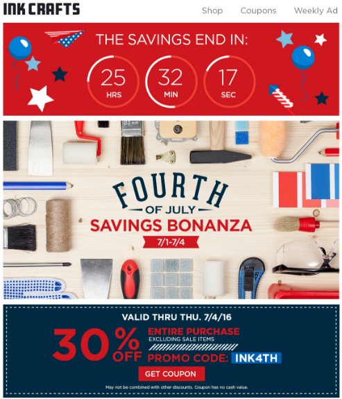 Light Up Your Email Campaigns this July 4th