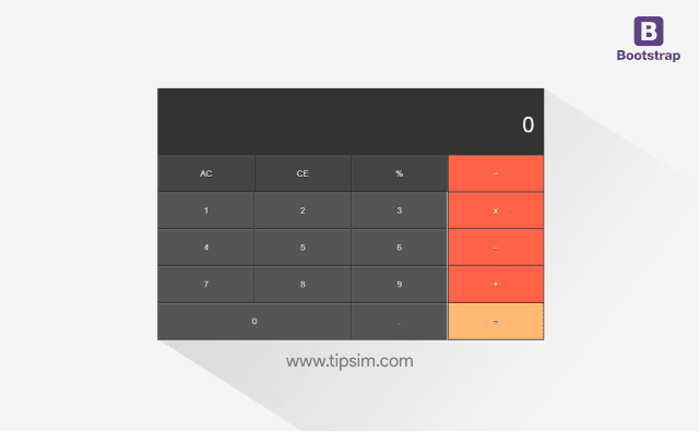 Cara Membuat Kalkulator Sederhana Menggunakan Bootstrap