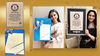 Vidya Balan's film 'Shakuntala Devi' Got Gunness world record