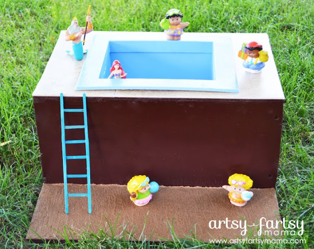 DIY Toy Pool from Artsy Fartsy Mama