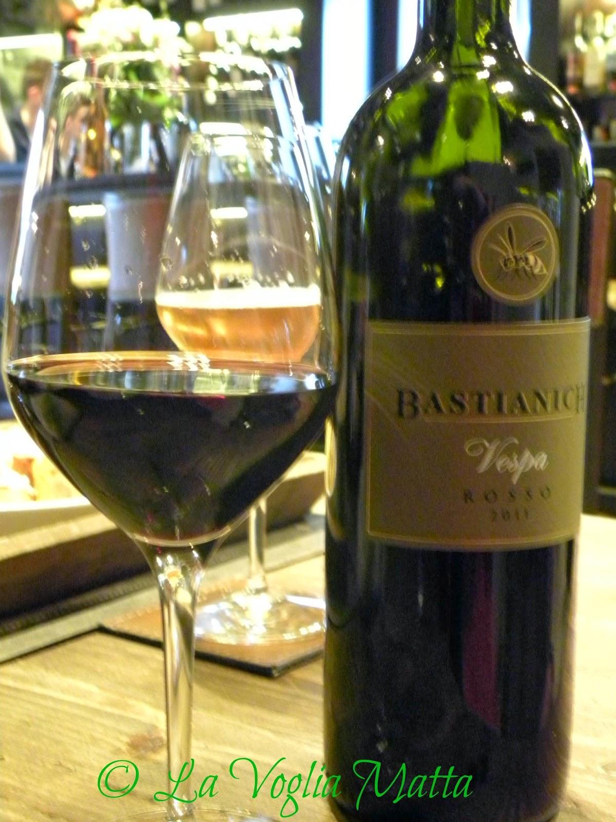 Bastianich vino Vespa rosso