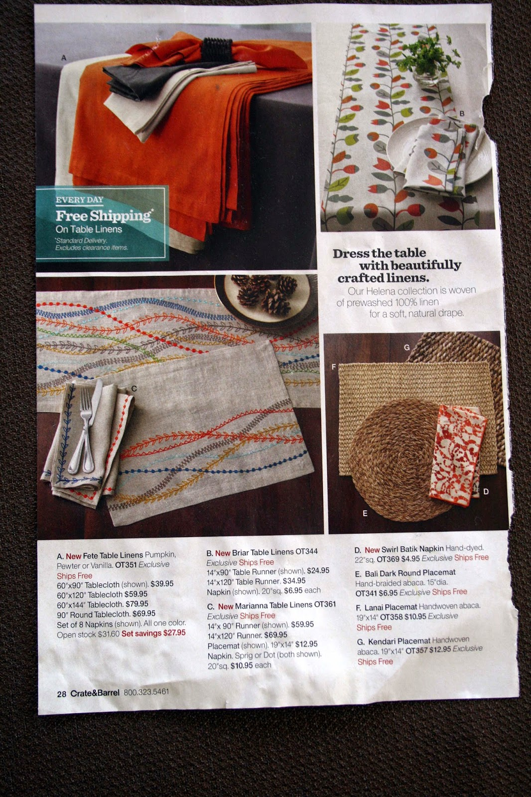 One Clever Mom C B Marianna Table Runner Tutorial