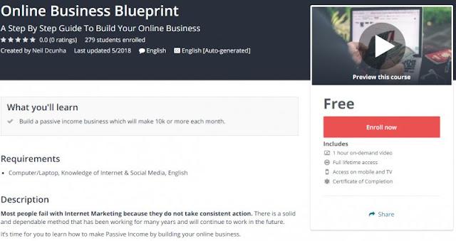 [100% Free] Online Business Blueprint