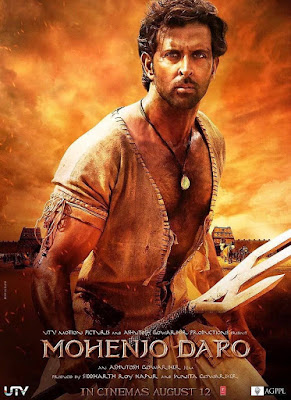 Mohenjo Daro, Filem, Movie, Bollywood, Review, Pelakon, Hrithik Roshan, Pooja Hegde, Tamadun Lembah Indus, Sejarah,
