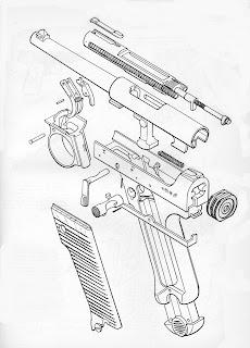 Tiro, Recarga e Fabricação de Projéteis : Esquemas de
