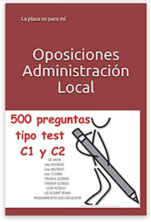 500 preguntas tipo test para administración local